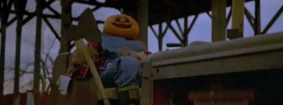 Halloween opening credits pumpkin | Deadly Movies