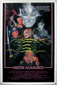 Neon Maniacs Poster 1986