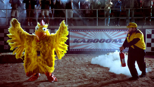 chicken rodeo