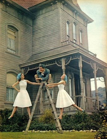 Perkins behind the scenes psycho