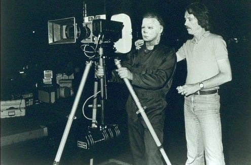 Image result for john carpenter and michael myers
