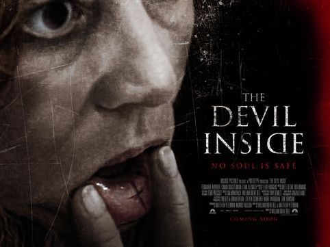 The Devil Inside quad poster