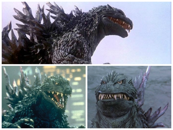 Godzilla 2000 suit