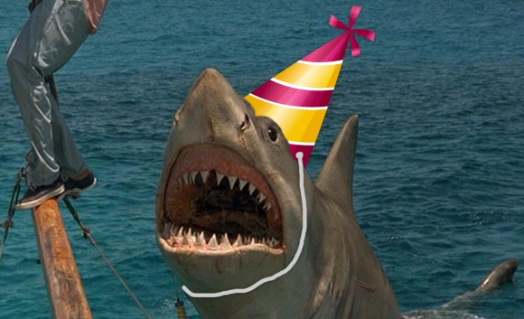 jaws-party-hat